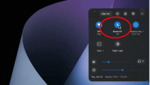 How to Connect AirPods to Chromebook - Step 3