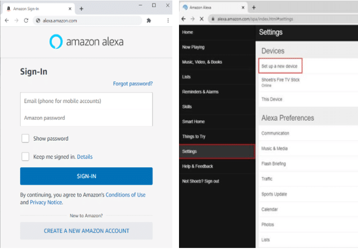 How to Connect Alexa to WiFi Without App