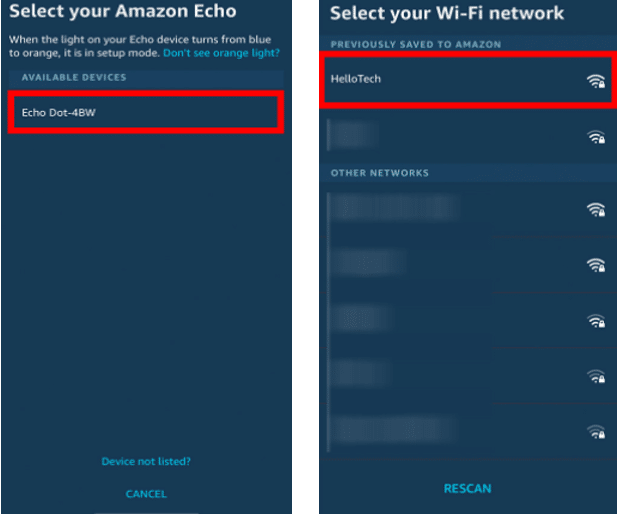 How to Connect Alexa to The Internet