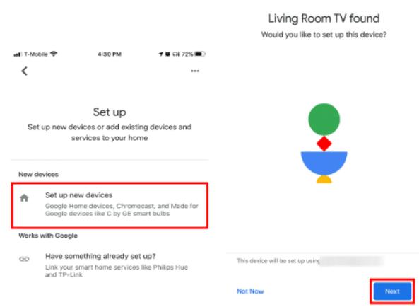 How to Setup Chromecast to New WiFi