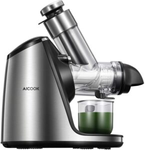 Best Masticating Juicer - AICOOK 200W SLOW JUICER