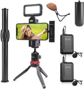Best Mobile Tripod - Movo iVlog