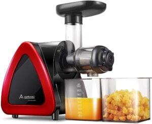 Best Twin Gear Juicer - AAOBOSI Slow Juicer
