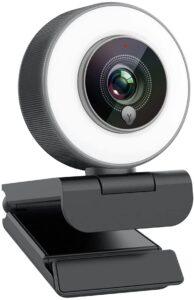 Virtual Classroom Equipment- Angetube Streaming 1080P HD Webcam