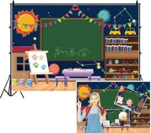 Equipment Needed for Virtual Classroom - DASHAN School Teacher Classroom Backdrop