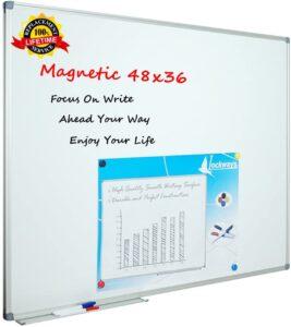 Virtual Classroom Equipment - Lockways 48 x 36 Inch Whiteboard