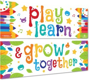 Equipment Needed for Virtual Classroom - Sproutbrite Classroom Decorations Banner