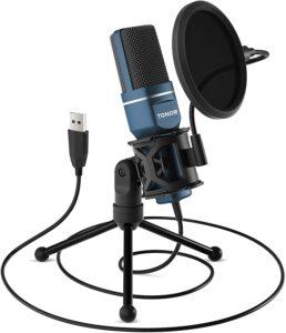 Virtual Classroom Equipment - TC-777 Tonor USB Microphone