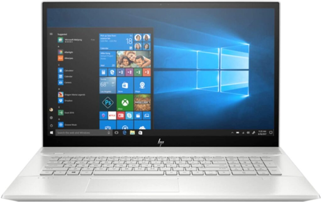 Gaming Laptops with 32GB Ram - HP ENVY 17.3 Inch Touch Laptop