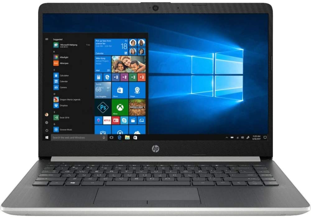 HP Laptop for Graphic Design - HP 14 Touchscreen Home and Business Laptop