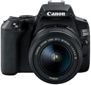 Best Cameras for Kids - Canon EOS Rebel SL3 DSLR Camera