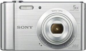 Best Cameras for Kids - Sony (DSCW800) Digital Camera