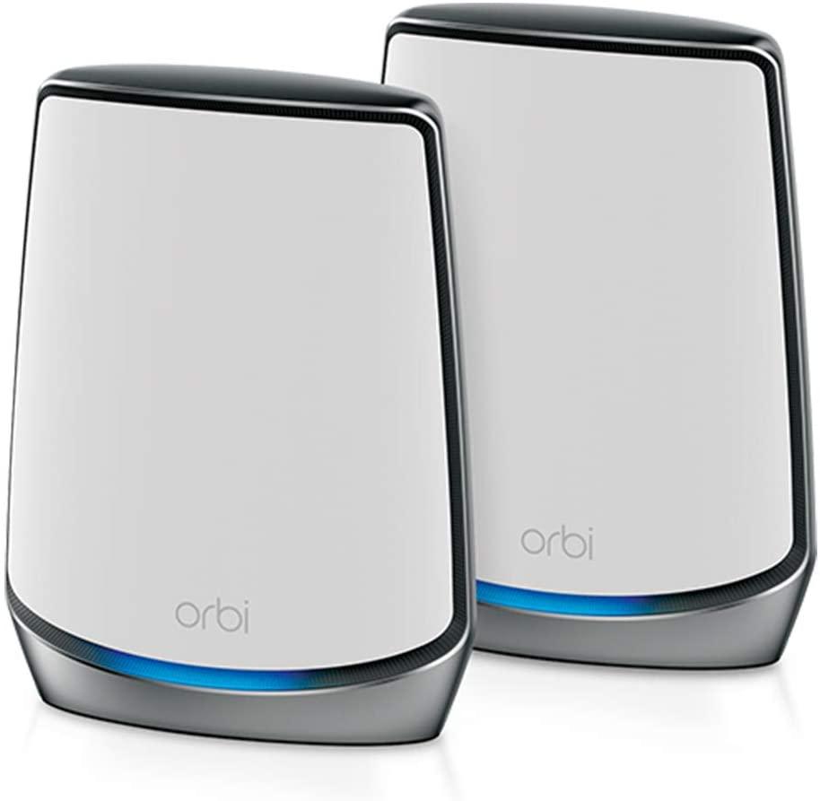 Best Mesh Wifi Routers - NETGEAR Orbi Mesh WiFi 6 System (RBK852)
