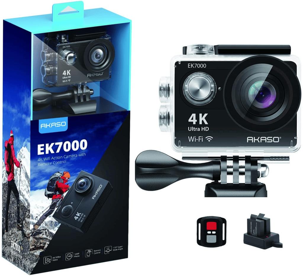 AKASO EK7000 4K30FPS Action Camera Ultra HD Underwater Camera