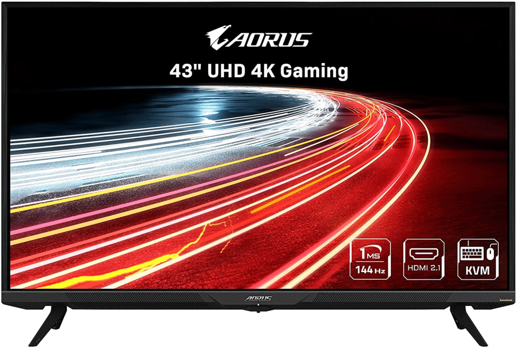 Best 4k 144hz Monitor - Gigabyte Aorus FV43U