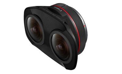 Canon Unveils Dual Fisheye Lens for Shooting VR Videos