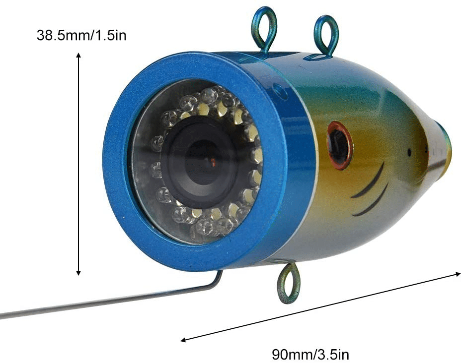 Waterproof Fish Finder Underwater Fishing Camera for Sea River Lake Boat Fishing 30M