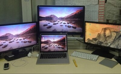 MacBook Air Dual Monitor Setup