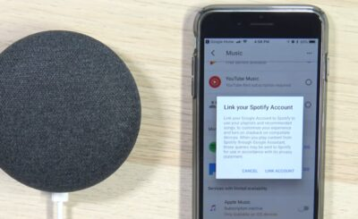 How to Link Spotify to Google Home
